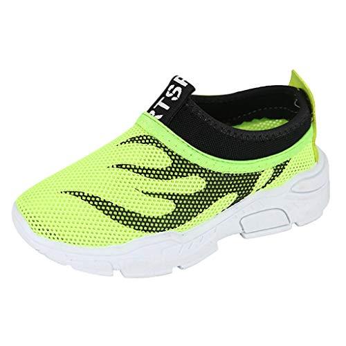 KItipeng Enfant Running Sneakers Sandales—Chaussures De Plage pour BéBé Enfant Fille GarçOn,Eté Sandales en Maille Mixte Enfants,Baskets Chaussures Outdoor Sport Sneakers Style,pour 4.5-12 Ans