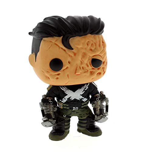 Funko FunkoBOBUGT677 Captain America Civil War POP! Vinyl Cabezon Crossbones (Unmasked) 10 cm