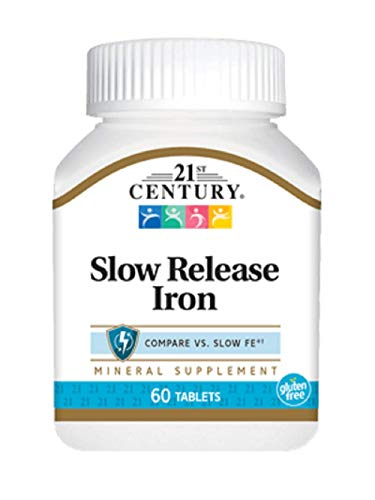 21st Century Slow Release Iron Tablets, 60 Count by 21st Century