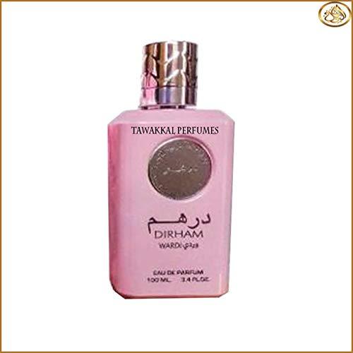 Dirham Wardi Edp de Ard Al Zaaafran - Perfume natural de calidad en spray, 100 ml, para mujer