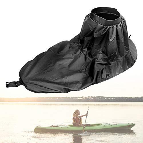 Yosoo Kajak-Sprührock Kajak Spritzschutz Kayak Boat Spray Skirt Kayak Spray Skirt, für Sit Inside Kayaks(Grau)