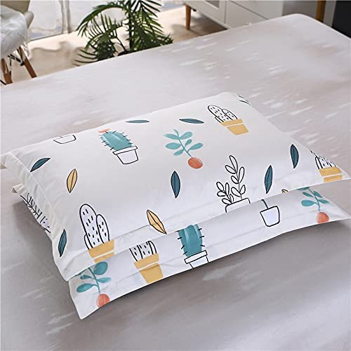 2pcs100% Los National products Angeles Mall Polyester high-Grade Active Rustic Pillowcase Printing