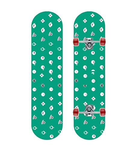 HHXWU Skateboard Allrad Skateboard Ahorn Skateboard Kinder Skateboard kleine Fliegende Untertasse