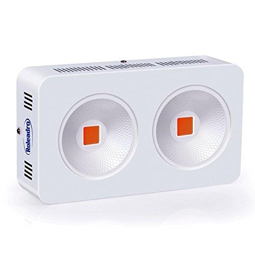 Roleadro LED Grow Light Full Spectrum 400w COB Light for Flowering and Veg