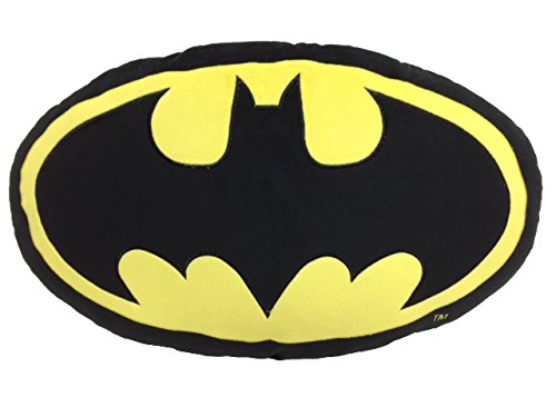 SD toys Batman Cojín Ovalado, Acrílico, Multicolor, 60 x 36 x 8 cm