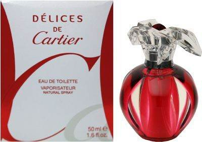 Delices De Cartier By Cartier For Women Eau De Toilette Spray, 3.4 oz