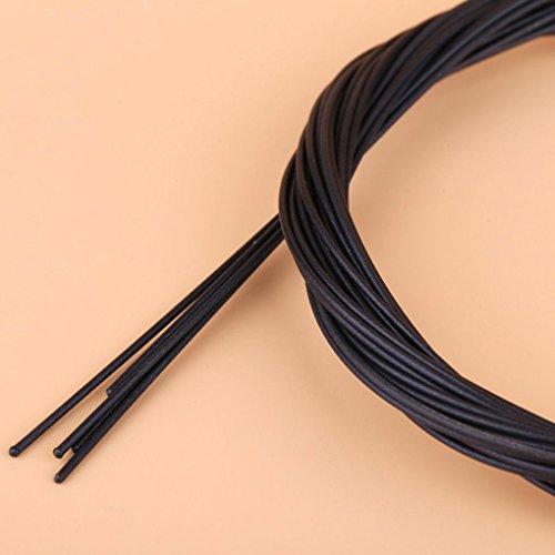 Flushzing 1.6m /2.1m MTB Bicicletas Cambio Cable Interior Alambre de teflón Variable...