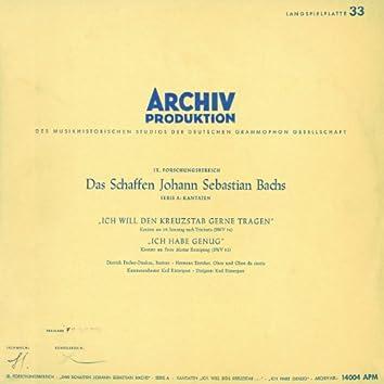 """Bach, J.S.: Cantatas """"Ich will den Kreuzstab gerne tragen"""", BWV 56; """"Ich habe genug"""", BWV 82"""