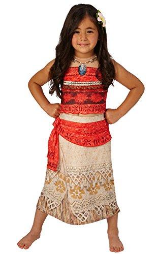 Deluxe Moana - Disney Princess - Costume Enfant Costume - Moyen - 116cm - Age 5-6