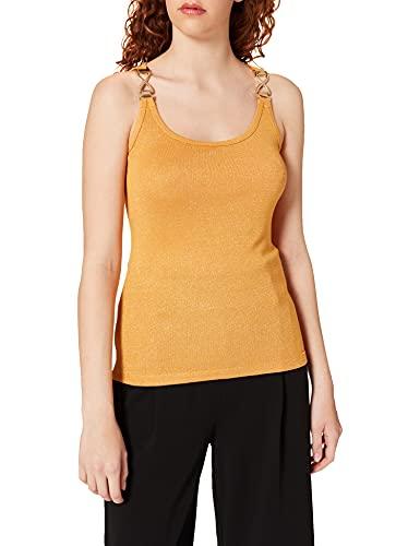 Morgan TSHIRT201-DIDA.N Camiseta, Amarillo, XS para Mujer
