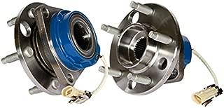 Callahan 513087X2 [2] Pair FRONT Premium Grade [ 5 Lug ABS ] Wheel Hub Bearing Assemblies [ 513087 ]