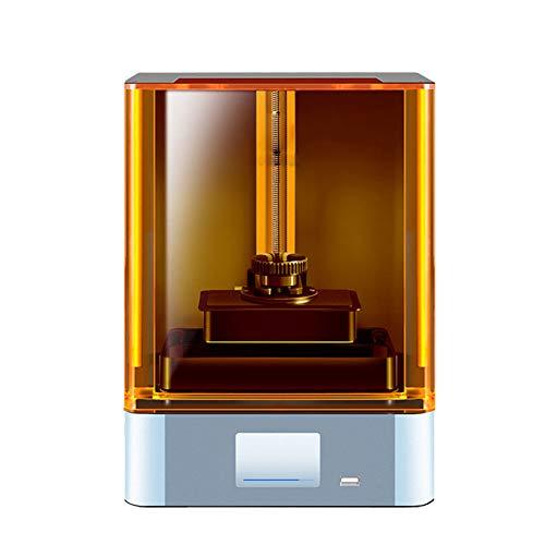 Silent 3D Printer,LCD Light Curing 3D Printer/Desktop Level/High Precision 2K Screen Large Size/Education Jewelry/Anime/Fine Model Printing