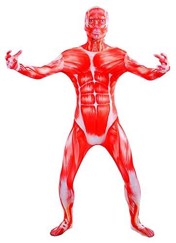 VSVO Anatomy Costume Bodysuits (XX-Large, Anatomy)