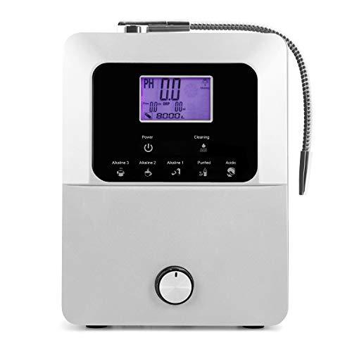 Platinum Alkaline Water Ionizer Machine | Smart Home Water Ionizer | pH 2.8 to 11 Alkaline Water Machine | Antioxidant Potential up to -800mV | 8000L per Filter