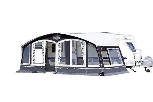 dwt Vorzelt Riva 240 grau Wohnwagenvorzelt Outdoor Ganzzelt Reisezelt Camping Caravan, Größenauswahl:Gr. 16 Umlaufmaß 1001-1030 cm