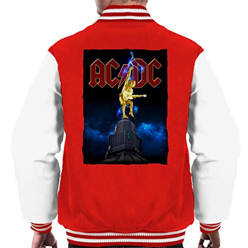 AC/DC Cosmic Thunderstruck Men's Varsity Jacket