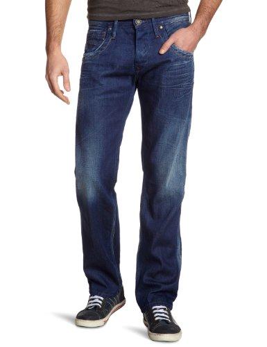 Pepe Jeans Herren Jeans Normaler Bund PM200042F142 - TOOTING, Gr. 36/32, Blau (000DENIM)