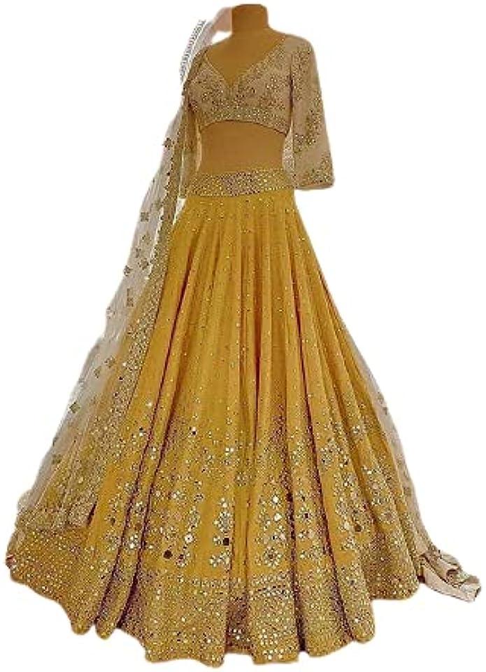 Banglory Silk Lehenga Choli Bollywood Lehnega Designer Lehenga Choli Marriage Lehenga choli Indian Festival Lehenga Choli for woman Indian Traditional Wear Party Wear