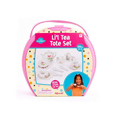 Toysmith 17-Piece Li'l Tea...