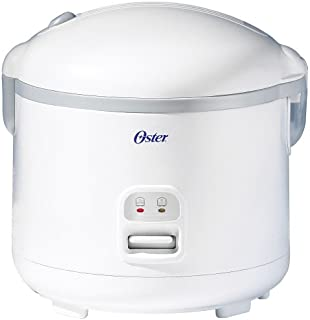 Oster 20-Cup Rice Cooker, White (004715-000-000)