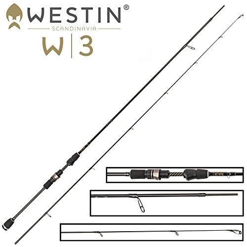 Westin W3 Street Stick 213cm M 2-10g - Spinnrute zum Spinnfischen auf Barsch & Forelle, Spinnangel zum Blinkern, Barschrute