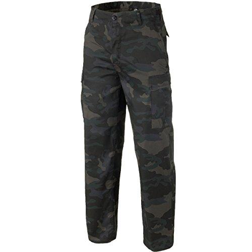 Brandit Rangerhose, Pantalon Cargo, Pantalons de Travail, Securityhose - Sombre Camouflage, S