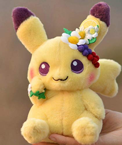 QWET Pikachued Plush Toy Dolls Garland Decoration Cute Stuffed Toy 18Cm Kids Children Gift Easter Spring Festival