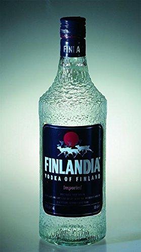 Vodka Finlandia imported Botella vieja 37,5° 0,70 lt.