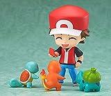 AGOOLZX Versión Q de Nendoroid Pokemon Animación en Caja roja Versión Q Muñeca PVC Figura de Juguete Personaje Decoración de Escritorio 10 Cm