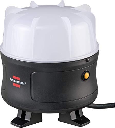 Brennenstuhl 1171410500 Mobiler 360° LED Strahler BF 5000 M 5000lm, IP54, 5m H07RN-F 3G1,5, schwarz, 50W