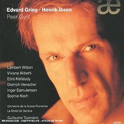 Grieg · Ibsen - Peer Gynt / L. Wilson · V. Aliberti · Kisfaludy · Henschel · Dam-Jensen · Koch · OSR · Tourniaire