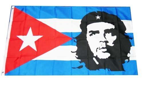 New Che Guevara-Housse Drapeau Cuba Grand format 152 x 91 cm