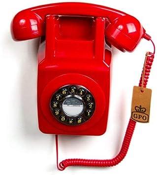 Gpo 746wall Retro Festznetztelefon Mit Drucktasten Zur Elektronik