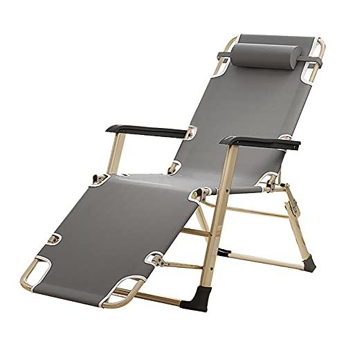 HUAYIN Silla de Gravedad Cero, sillas de Bronceado para Exteriores   Chaise Lounge Chair Sillas de Patio Interior Silla de Camping
