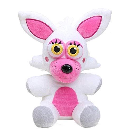 DHTOMC Plüschspielzeug 18 cm Fünf Nächte in S Phantom Foxy Plüsch Puppe Gefüllte Tierkinder Große Geschenke 18cm Weißer Fuchs Xping