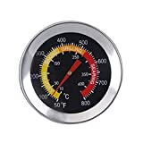GasSaf 6cm Smoker Grill Thermometer Charcoal Pit Oven BBQ Temperature Gauge for Beef Lamb Meat Cooking...