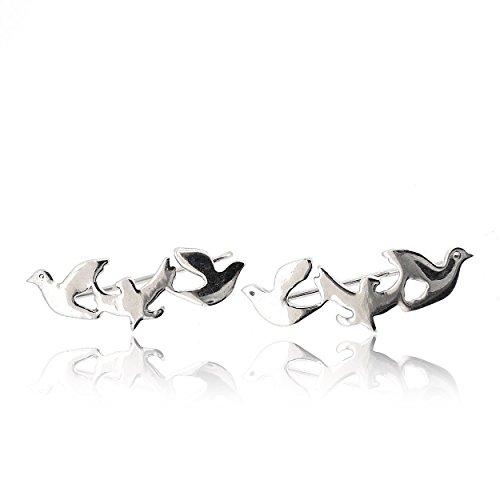 Sovats Pendientes Mujer Tres Pájaro