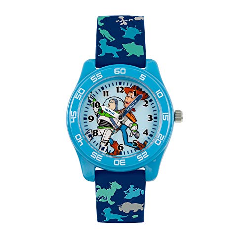 Disney Kids Time Teaching Toy Story Buzz and Woody Watch with Blue...
