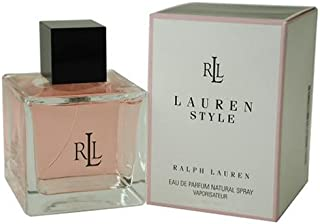 Lauren Style by Ralph Lauren for Women, Eau De Parfum Natural Spray, 4.2 Ounce