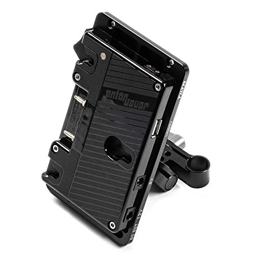 Tilta BT-003-AB Gold Mount Battery Plate Power Supply System for DSLR and Mirrorless Camera