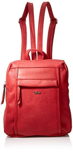 Gabor bags Rucksack Damen Mina, Rot, M, Rucksackhandtasche, Gabor Tasche Damen
