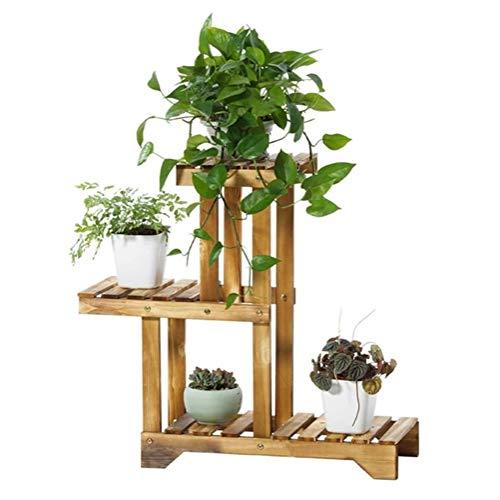 Ace hprqj Support pour fleurs de balcon en bois massif et carbone