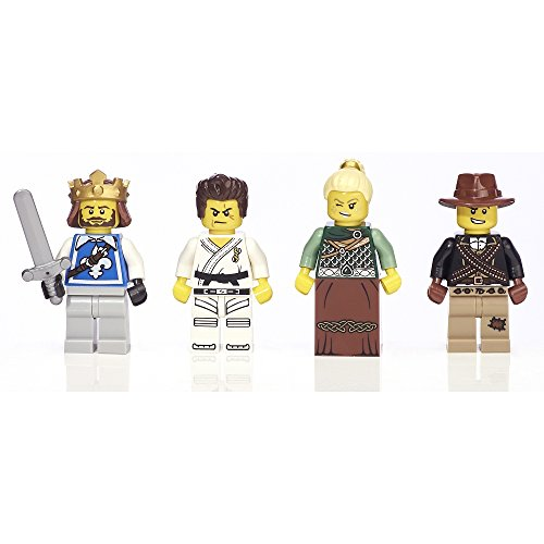 """LEGO Warriors Minifigure Collection Exclusive Toys """"R"""" Us Bricktober 4-pack (5004422)"""