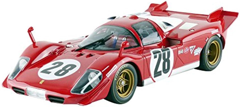 alta calidad general CMR 030 Ferrari 512S 24H Daytona 1970 Escala 1 1 1 18 Rojo blancoo  a la venta