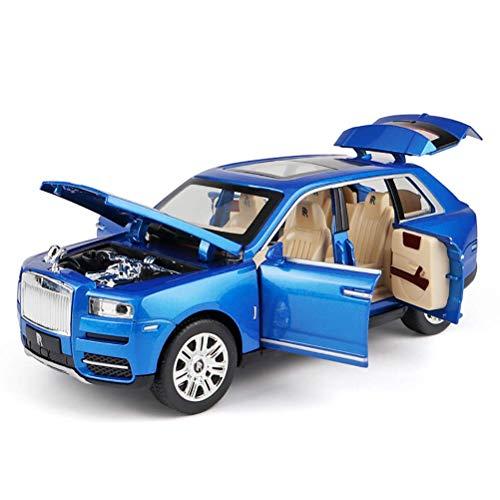 ZY Escala 1/24 Rolls-Royce Juguete Cullinan del Coche de Metal de la...