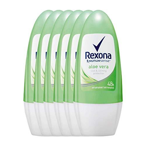 6 x Rexona Women Deo Roll-on