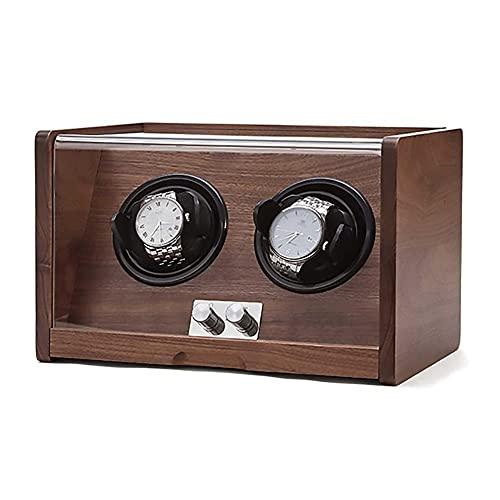 UOOD Reloj Binder, Reloj Body Box para Relojes automáticos con Motor silencioso Extremadamente japonés, Gran Capacidad, Almohadas de Reloj Ajustables Excelente Mano de Obra (Size : 2-Slots)