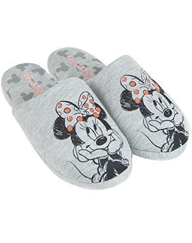 Disney Minnie Mouse Sketch Women's/Ladies Slippers