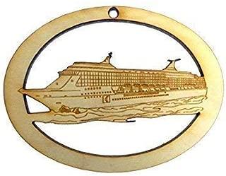 Personalized Cruise Ship Ornament - Cruise Ship Ornaments - Custom Cruise Ship Party Favor - Wedding Cruise Favor