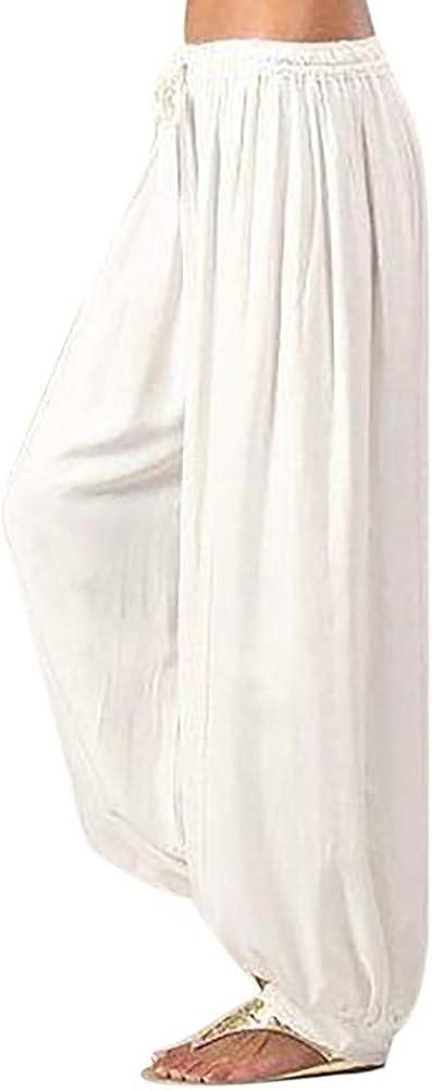 Max 86% OFF FUNEY Women's Plus Size Yoga Sports Cas Dance Hippie Harem Max 49% OFF Pants